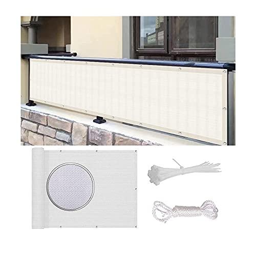 MALSWDJX Yangtan Ver Protección Protección de protección contra el viento Protección de protección UV Protección de los ojos HDP E Resistencia a la intemperie, incluyendo cuerda y corbata (color: blan