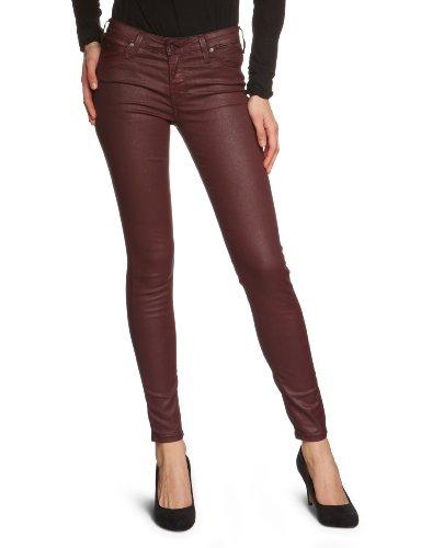 Lee Damen Scarlett Jeans, Rouge-Rot (Bordeaux), 29W / 33L
