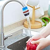 Underleaf Home Household Kitchen Mini Faucet Tap Filter Water Clean Water Purifier Cartridge Household Kitchen Home Carbon Faucet Mini Tap Water Clean Filter Purifier Filtration Cartridge