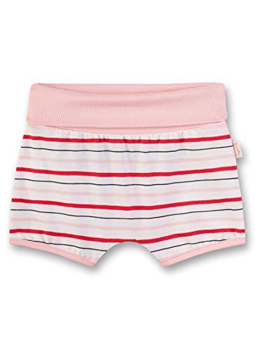 Sanetta Baby-Mädchen Kurze Hose Shorts, Beige (Ivory 1829), 74 (Herstellergröße: 074)