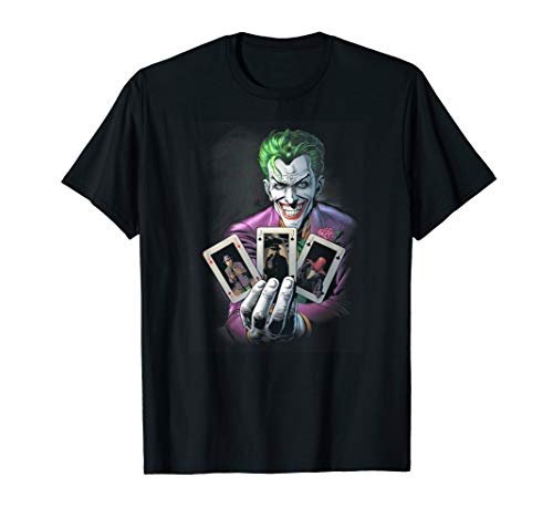 Batman Joker 3 of a Kind T Shirt