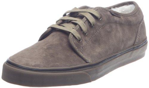 Vans 106 Vulcanized VNJNL7Z, Unisex - Erwachsene Klassische Sneakers, Braun ((Fleece) teak/dark gum), EU 46 (US 12)