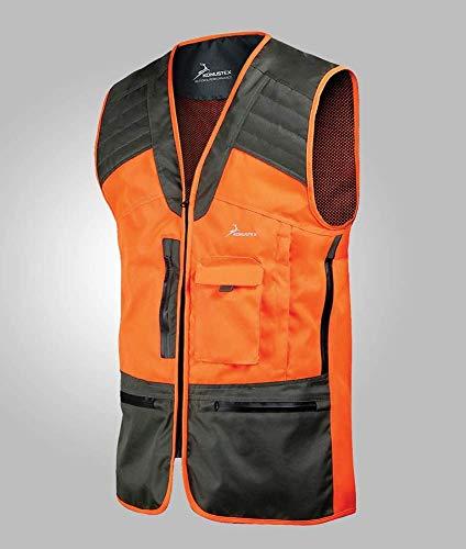 Konustex Chaleco de caza GAMETOP Naranja Resistente al Agua #289, Arancione, L