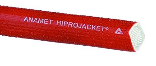 Anamet 3360161 Hiprojacket Aero Hitzeschutzschlauch rot HJ-10 NW16 / 5/8