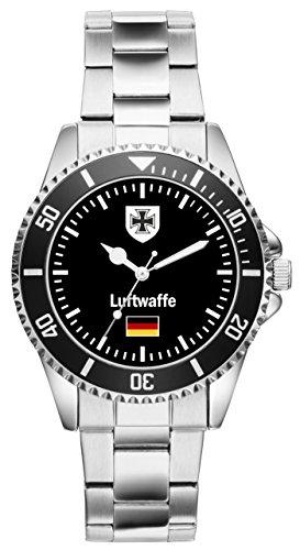 KIESENBERG Uhr- Soldat Geschenk Artikel Bundeswehr Luftwaffe 1030