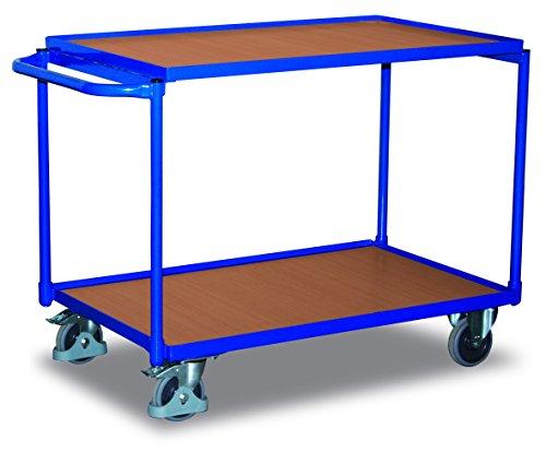 Cordes sw-500.501 Tischwagen mit 2 Ladeflächen, Blau