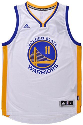 adidas Klay Thompson Men's White Golden State Warriors Swingman Jersey X-Large