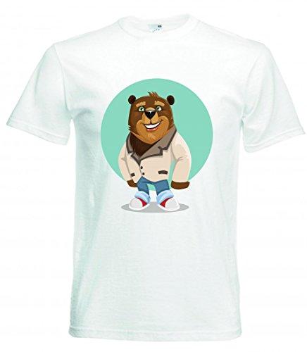 Camiseta BÄR- Personaje - Niedlich - Juventud - Animales - Ropa de...