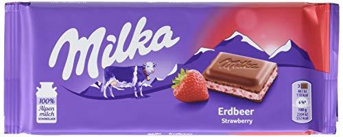 Milka Erdbeer - Joghurt 100g