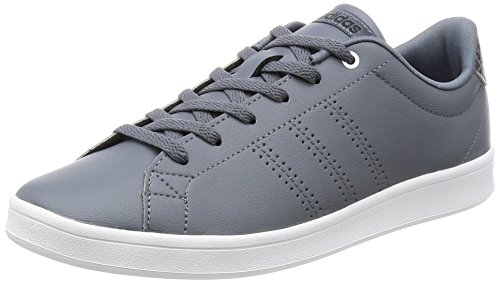 adidas Damen Advantage Clean Qt W Sneaker Low Hals, Grau (Onix/onix/msilve), 38 2/3 EU