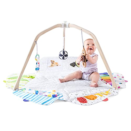 The Play Gym by Lovevery | Stage-Based Developmental Activity Gym & Play Mat for Baby to Toddler