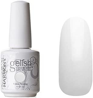 Harmony Gelish Uv Soak Off Gel Polish -Sheek White (0.5 Oz)