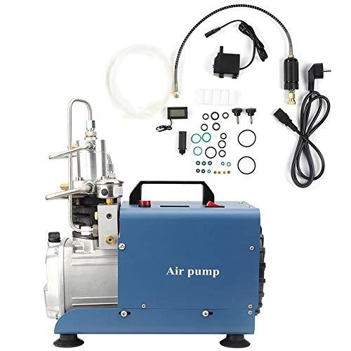 Bomba de Aire Accesorio Mecánico Eléctrico Alta Presión 30Mpa Apagado Automático Refrigeración...