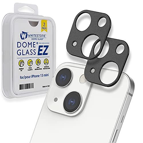 Whitestone Camera EZ] Protector de cámara para Apple iPhone 13 Pro Max (6.7 pulgadas) por Whitestone [One Touch Installation] Protector de cámara resistente a los arañazos, paquete de dos