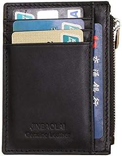 Jinaboli Wallet For Men, Leather, Black Color