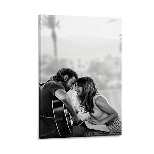 """HZHI - Poster con colonna sonora """"Star is Born Soundtrack"""" (50 x 75 cm)"""
