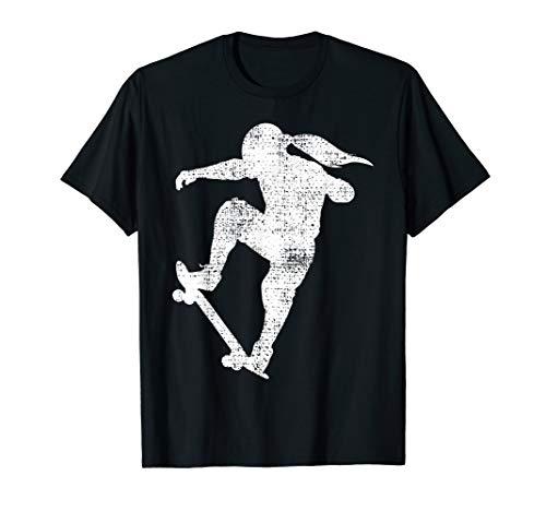 Skater Girl Skateboard Gift Skateboarder T-Shirt