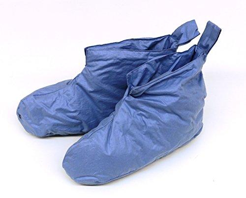 Daunenschuhe Kuschelwarme Bettschuhe Hausschuhe blau Gr. 1
