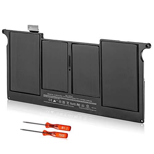 "SLODA Batería para Macbook Air 11"" A1495 A1465 A1406 A1370 (Medio 2011 2012 2013, Temprano 2014 2015) Batería repuesto para portátil [Li-Polymer 7.4V 5200mAh]"