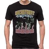 Global Backstreet Boys Men's Vintage Destroyed Slim-Fit T-Shirt M, Black