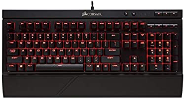 Corsair K68 RGB mechanisch gaming-toetsenbord, RGB-LED, achtergrondverlichting, stof- en lekvrij, lineair, stil,...