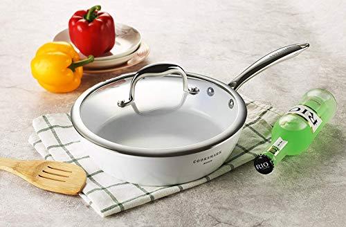 Cooksmark『セラミックコーティング鍋10点セットハクチョウシリーズ純白』