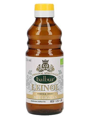 Bio Leinöl aus dem Spreewald 250ml (mit Lignane)
