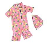Keephen Baby-Schwimmen-Kostüm-Karikatur-Sonnenschutz-Kleidungs-Strand-Bodysuit-Beiläufiger Sport Im Freien