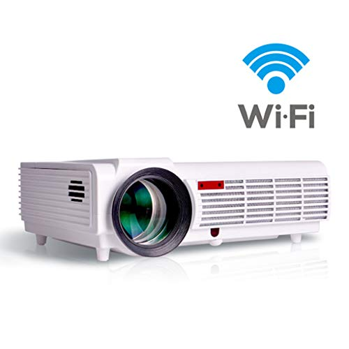 Cajolg Mini draagbare projector 3D LED Android WiFi hd1080p HDMI video multischerm projector videoprojector Full HD
