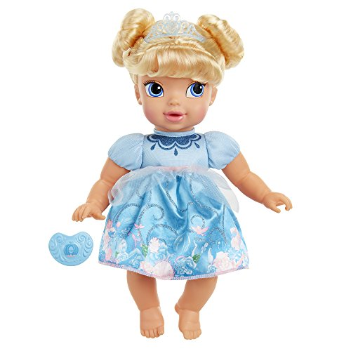 Disney Princess Deluxe Baby Cinderella Doll with Pacifier Toy