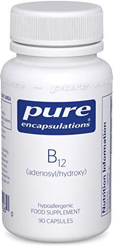 Pure Encapsulations - Adenosyl/Hydroxy B12 - Hypoallergenic Blend with Vitamin B12-90 Capsules