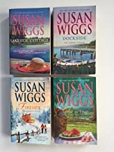 Susan Wiggs (4 Book Set) Lakeside Cottage -- Dockside -- Fireside -- Table for Five