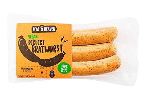 Peas of Heaven Bratwurst Perfecto Vegana 210g  Sin Gluten   Sin Soja