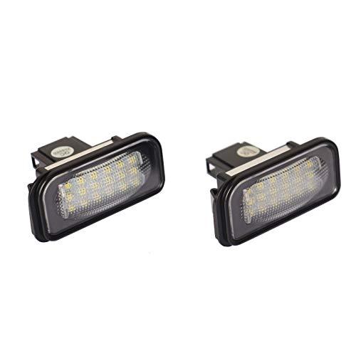 LED Kennzeichenbeleuchtung Nummernschildbeleuchte für C-Klasse W203 CLK Cabriolet SL R230