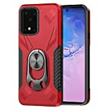 Bemz [Dual Series] Case for Samsung Galaxy S20 Ultra, Bottle Opener Stand Car Mount Ready Heavy Duty Armor Rugged Cover with Atom Wipe - Red