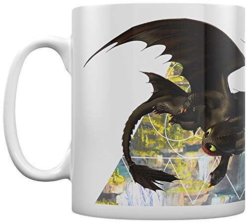 Pyramid International MG25230 How TO Train Your Dragon 3 (Toothless) Mug, Keramik, mehrfarbig