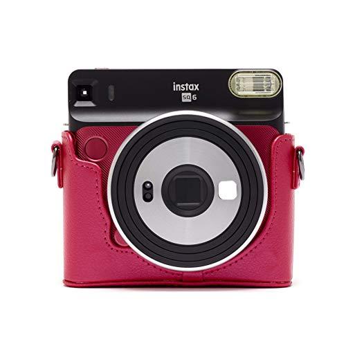 Fujifilm Instax SQ6 Tasche, Ruby red