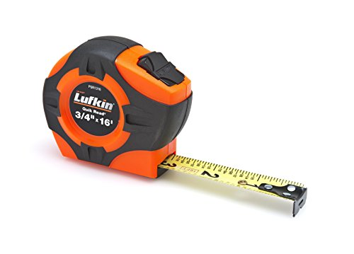 Lufkin PQR1316 Quickread Power Return Tape, 3/4-Inch by 16-Feet, Hi-Viz Orange by Apex Tool Group