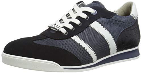 LLOYD Herren Argon Sneaker, Blau (Ocean/Blue/Bianco/Blue/Navy 3), 42 EU