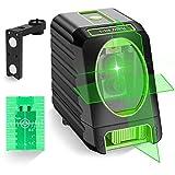 Huepar BOX-1G Nivel Láser Verde 45m, MODO DE PULSO, Pro Precisión: ± 2 mm/...