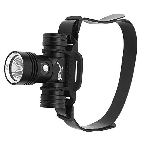 Linterna Frontal, Ajustable 3.3x2.8x1.4in Linterna Frontal Para Adultos Para Acampar Y Caminar