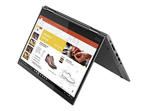 Lenovo ThinkPad X1 Yoga - Ordenador portátil convertible 14' WQHD (Intel Core i5-8265U, 8GB, 256GB SSD, Intel UHD Graphics, Windows 10 Pro), Color Gris - Teclado QWERTY español