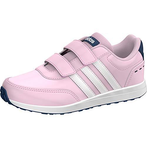 Adidas Vs Switch 2 CMF C, Zapatillas de Running Unisex niño, Multicolor (Ros Cl A/Ftwbla/Tintec 000), 31 EU