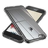【ONES】 iPhone 6s/6 ケース 半透明·黒 米軍MIL規格〔衝撃吸収、レンズ保護、滑り止め、軽い、黄ばみなし〕『エアクッション技術、半密閉音室』 高級感 カバー Airシリーズ