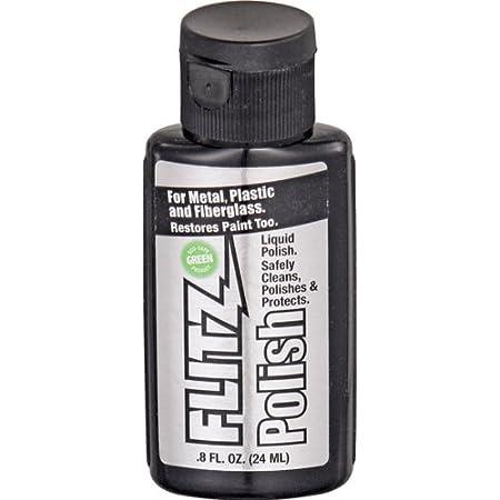 Flitz Flüssigpolitur Metallpolitur Universalreiniger Metallpflege Liquid Metal Polish 100 Ml 3 4 Oz Küche Haushalt