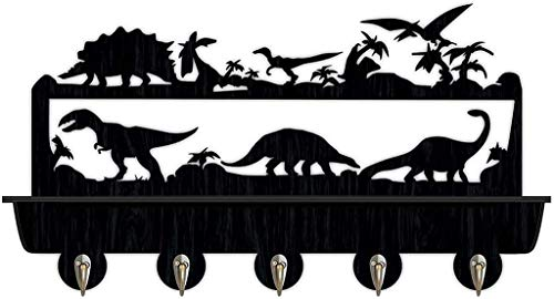 yxx Perchero Pared Dinosaurio montado en la Pared Key Key Hook Coat...