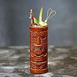 Copas de cóctel, 400 ml/Tiki Taza de cóctel Hawaiano de cerámica, cerámica Partido Hawaiano Tazas Drinkware Embalajes de cóctel exóticos Tiki Bar Profesional Hawaiian Party Barware