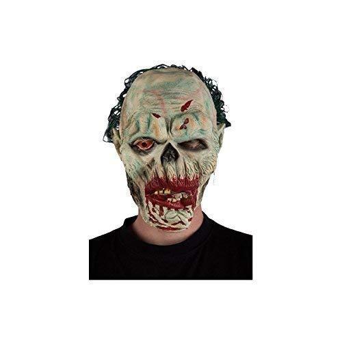 Knetsch zombiemaske avec les yeux et les cheveux verts