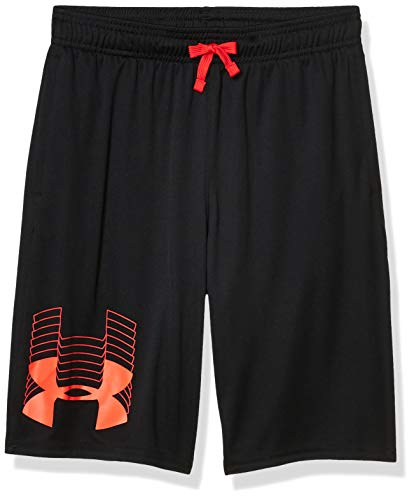 Under Armour Jungen Prototype Logo Shorts, Schwarz (001)/Beta, Jugend Large