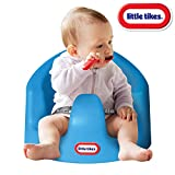 Little Tikes My First Seat Infant Toddler Foam Cushion Floor Support Seat Baby Chair, Blue